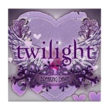 twilight breaking dawn large poster p Tile Coaster