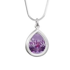 twilight breaking dawn l Silver Teardrop Necklace