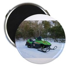 Snowmobile Magnet