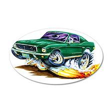 1968 Bullit Mustang copy Wall Decal