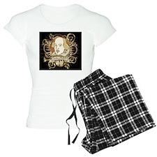 william_shakespeare_gold-ba Pajamas