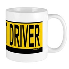Pregnant Drv 527_H_F bus yellow Mug