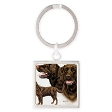 Choc Lab Multi Square Keychain