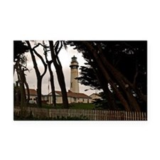 (3) Pigeon Point Fence Rectangle Car Magnet