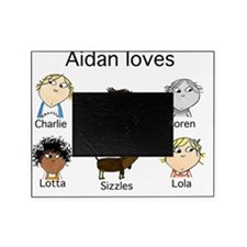 Aidan Loves Picture Frame