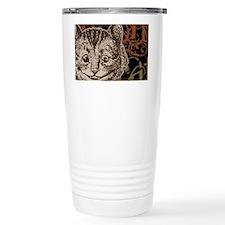 cheshirecat-bronze-2 Ceramic Travel Mug