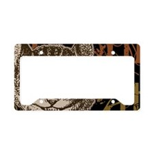 cheshirecat-bronze-2 License Plate Holder