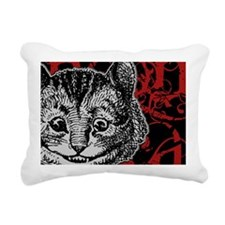 cheshirecat-red-2 Rectangular Canvas Pillow
