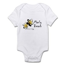 Cute Manly Infant Bodysuit