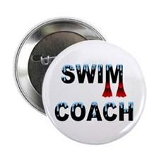 "Swim Coach 2.25"" Button (100 pack)"