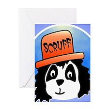 Scruff iphone Greeting Card