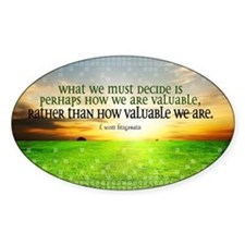Valuable and Decide Quote on Large  Decal