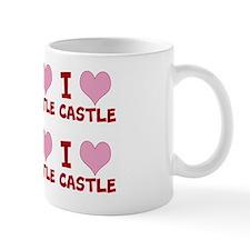 I heart CASTLE (full) shoulder bag Mug