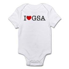 I Heart GSA Infant Bodysuit