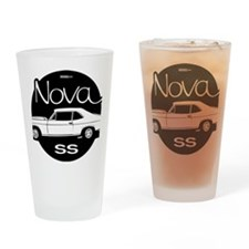 chevrolet-nova-01b Drinking Glass
