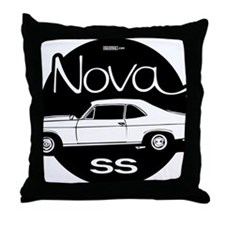 chevrolet-nova-01b Throw Pillow