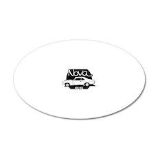 chevrolet-nova-01b 20x12 Oval Wall Decal