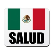 Salud Mexican Drinking Glass Mousepad