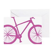 BOMB_pink Greeting Card