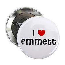 "I * Emmett 2.25"" Button (10 pack)"