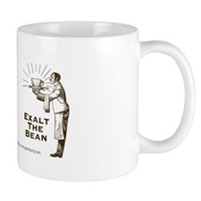 """Exalt the Bean"" Right-Handed Coffee Mug"