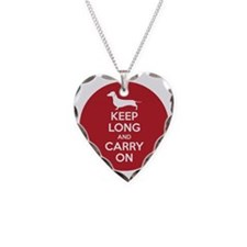 keep_calm_round Necklace