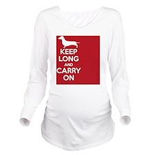 keep_calm_rectangle Long Sleeve Maternity T-Shirt