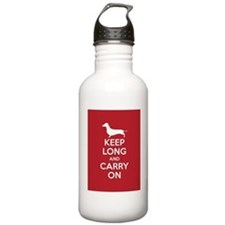 keep_calm_9x12 Water Bottle