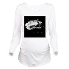 1212 new moon feathe Long Sleeve Maternity T-Shirt