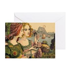 Toiletry Legende Doree Greeting Card
