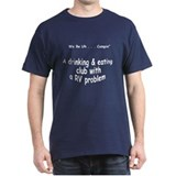 RV Problem Navy T-Shirt