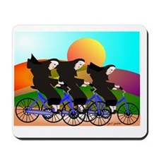 Nuns on Bikes FINAL Mousepad