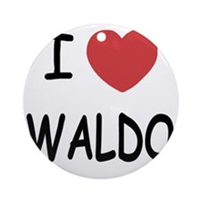 WALDO Round Ornament