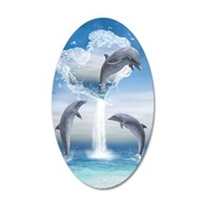 dolphins_iTouch4_Generic_Cas Decal Wall Sticker