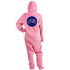 Bicycle Footed Pajamas