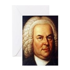 bach puzzle Greeting Card