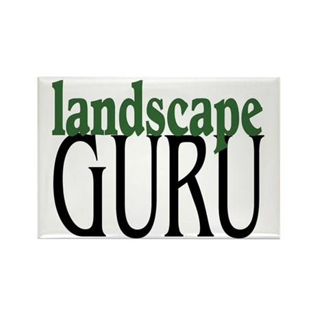 Landscape Guru Rectangle Magnet (10 pack)
