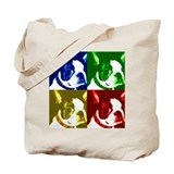 Pop Art Boston Terrier Tote Bag