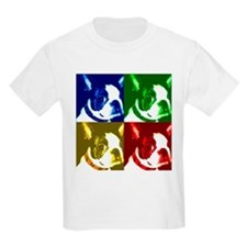 Pop Art Boston Terrier Kids T-Shirt