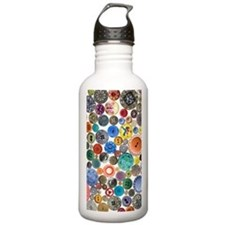 Buttons 7.5 x 10.8 Water Bottle