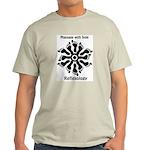 Reflexology Foot Circle Light T-Shirt