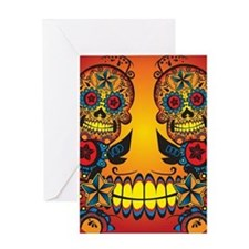 flipflops_voodoo Greeting Card