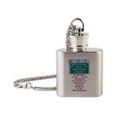 buffaloradio Flask Necklace