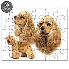 Am Cocker Blanket Puzzle