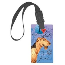 airedale-kindle Luggage Tag