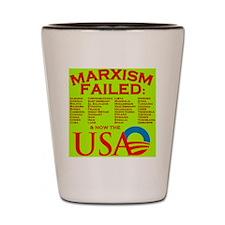 MarxismFailed_yellow Shot Glass