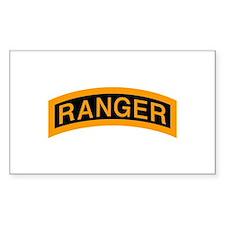 Ranger Tab Rectangle Decal