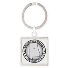 Birmingham Alabama LDS Mission Square Keychain