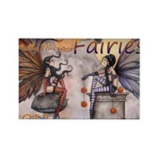 2012 fairy calendar cover cafe pr Rectangle Magnet
