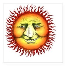 "sunfaceTUtrans copy Square Car Magnet 3"" x 3"""